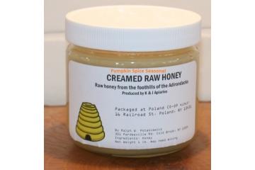 Organically Flavored Pumpkin Spice Creamed Raw Honey - 1 lb Jar